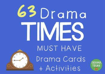 History - TIMES Drama / English Cards + Suggested Drama Ac