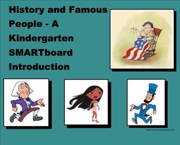 History and Famous People - A Kindergarten SMARTboard Intr