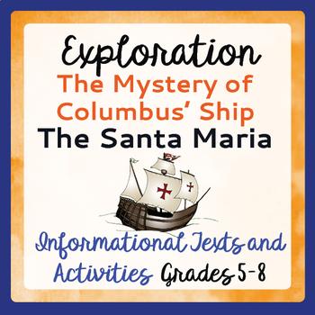 Exploration Christopher Columbus History Mystery Informati