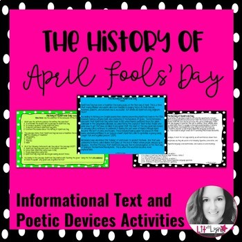 History of April Fools' Day Informational Text & Poetic De