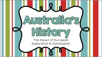 History of Australia - Notes and Activities (SS6H9)