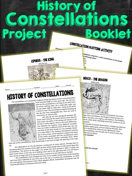 History of Constellations Project Booklet Tasks