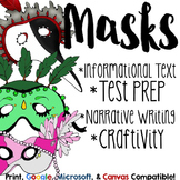 History of Halloween Masks Close Reading or Informational