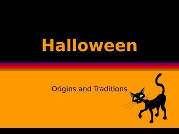History of Halloween PPT