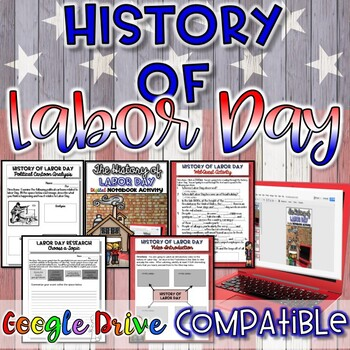 History of Labor Day Close Read and Writing Activity {NO PREP}