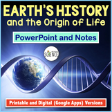 History of Life on Earth / Origin of Life PowerPoint and Notes