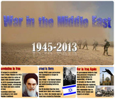 Middle East Conflicts History PowerPoint