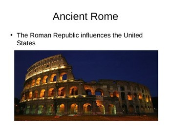 History of Rome PowerPoint Presentation.  History 101