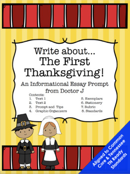 First Thanksgiving Informational Essay Common Core TN Read