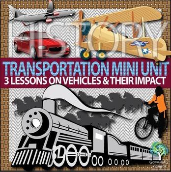 History of Transportation Mini Unit - boats, horses, bikes