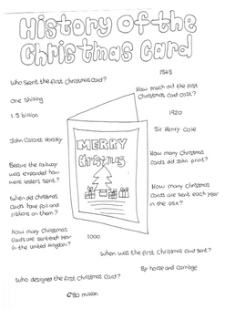 History of the Christmas Card