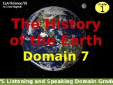 History of the Earth Listening and Speaking Domain Grade 1