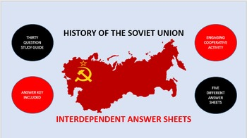 History of the Soviet Union: Interdependent Answer Sheets