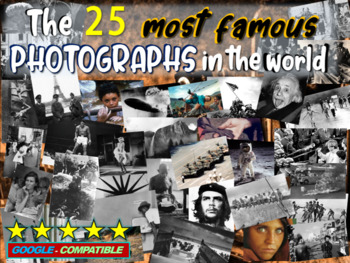 History's Most Famous Photographs 56-slide PPT (video link