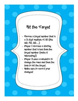 Hit the Target - Math Game