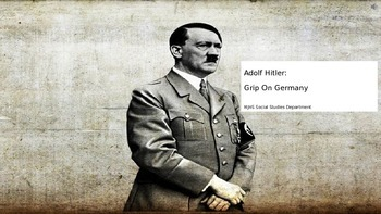 Hitler's Grip on Germany