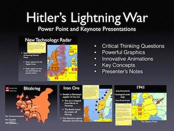 World War 2 Hitler's Lightning War 1939-1941 Keynote/Power