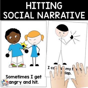 Hitting / My Hands Social Story
