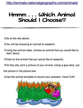 Hmmm . . . Which Animal Should I Choose? (Animal Research)