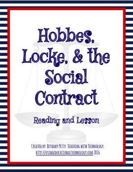 Hobbes, Locke, and the Social Contract Theory