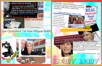 Hobby Lobby FREE POSTER Health Care Coverage v. Religious Beliefs