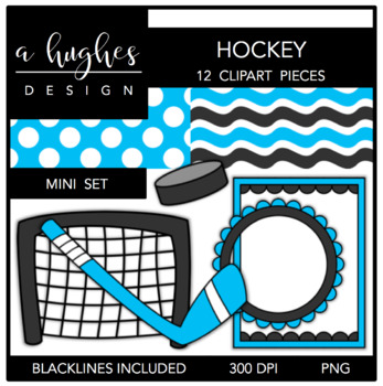 Hockey Mini Set {Graphics for Commercial Use}