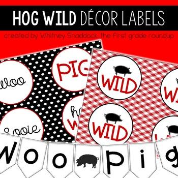 Hog Wild Labels