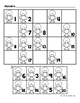 Hojas y centros de matematicas- Octubre (otono) para Kinde