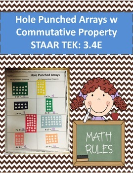 Hole Punch Arrays with Commutative Property STAAR TEK: 3.4E