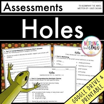 Holes: Tests, Quizzes, Assessments