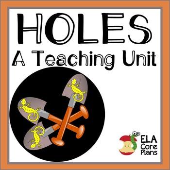 Holes Novel Unit ~ Activities, Handouts, Tests!