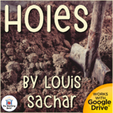 Holes Novel Study Book Unit