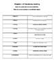 Holes Reading Guide Question Packet