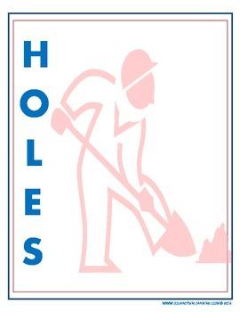 Holes Vocabulary Activities