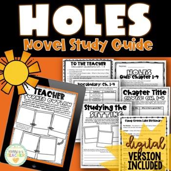 Holes by Louis Sachar {Novel Study}