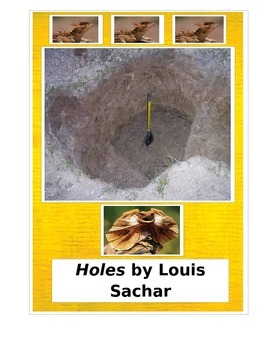 Holes by Louis Sachar Tests and Activities aligned with Co