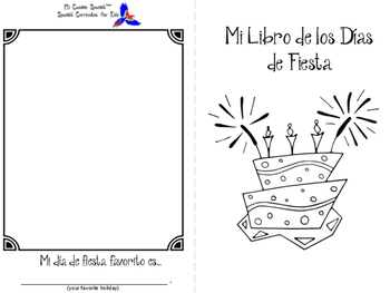 "Holiday Activity - ""Mi Libro de los Días de Fiesta"""