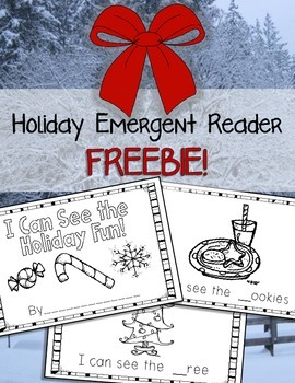 Holiday Emergent Reader {FREEBIE}