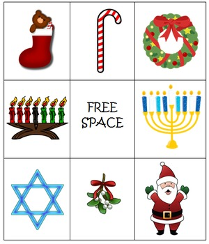 Holiday Bingo