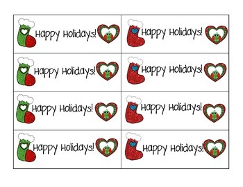 Holiday Bookmarks in English / Spanish