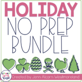 Holiday Bundle NO PREP Activities for Speech Therapy!