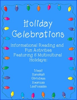 Celebrations Holiday Unit: Christmas, Hanukkah, Kwanzaa, D