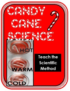 Winter Holiday Christmas Science: Dissolve a Candy Cane w/