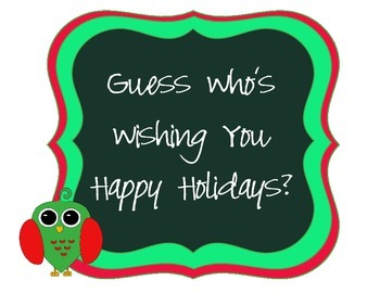 Holiday / Christmas Owl Signs and Card Freebies