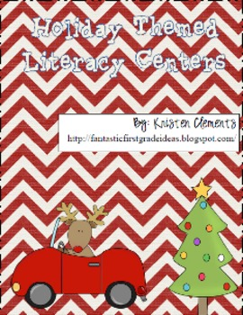 Holiday Christmas Themed Literacy Centers
