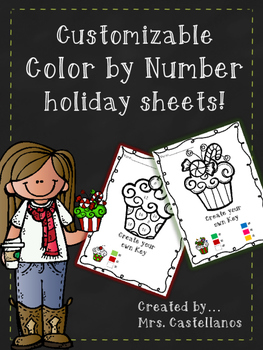Holiday Color by Number