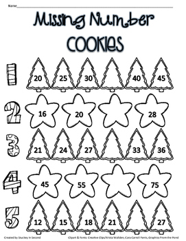 Holiday Cookie Hop 2015 {Freebie}