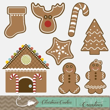 Holiday/Christmas Cookies Clip Art