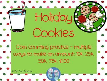 Holiday Cookies - Coin Math Game