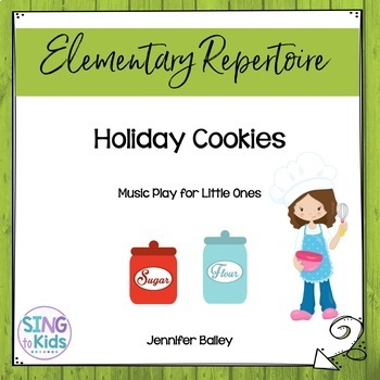 Holiday Cookies Song Story for Interactive White Board